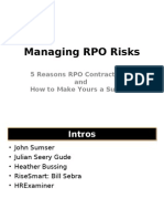 HRExaminer 5 Reasons RPO Contracts Fail and How to Make Yours a Success