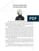History of Ahmadiyya