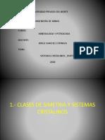 SISTEMAS CRISTALINOS 2