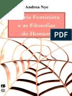 Teoria Feminista e as Filosofias do Homem - Andrea Nye.epub