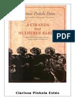 Clarissa Pinkola Estes - A Ciranda Das Mulheres Sabias.pdf