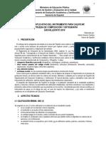Manual Explicativo Composición y Ortografía