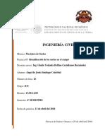 TECNOLÓGICO NACIONAL de MÉXICO Identificacion de Los Suelos