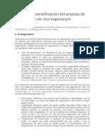 Fases de La Estratificación Del Proceso de Planificación de Una Negociación
