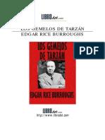 Burroughs Edgar Rice - Tarzan 25  LOS GEMELOS DE Tarzan .pdf