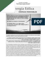 Energías Renovables Autonomia Curricular secundarias