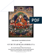 Eight Manifestation of Guru Rinpoche