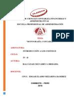 Monografía Contable 3RA UNIDAD