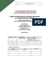 TICUNHEVAL Diccionario de Datos