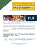 Bienestar Informa Nº07 Proyectos Concursables 2016