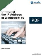 Change IP Adress Windows10
