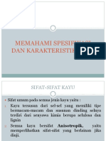 Memahami Spesifikasi Dan Karakteristik Kayu