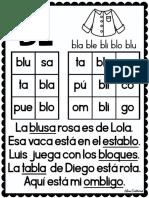 Cuaderno Original Para Trabajar Las Sílabas Trabadas
