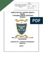 2017_manual de Procedimientos de Enfermeria Ucim