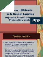 eficacia + eficiencia en la gestión logística