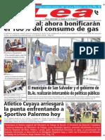 Periódico Lea Viernes 25 de Mayo Del 2018