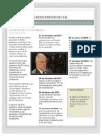 Noticia Renuncia PPK (Vidal Celadita, Renato - Aula 103)