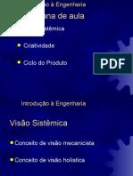 3a Semana Visao Sistemica Criatividade Ciclo Do Produto