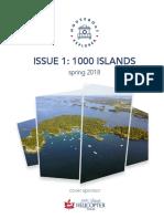 Houseboat Explorer Magazine Issue 1 1000 Islands