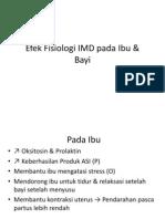 Efek Fisiologi IMD Pada Ibu & Bayi