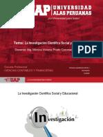 SEMANA 1 La Investigaciòn Social y Los Diseños de La Investigaciòn