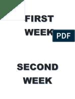 Separador de Semana