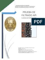 Prueba de Filtración API