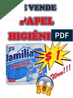 publicidad papel higienico