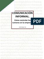 Comunicacion informal. Como eliminar los rumores en la empresa