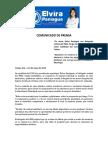 Comunicado Elvira Paniagua - Delegado Imss