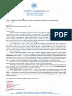 Surat Pendistribusian Leaflet