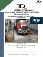 Informe Tecnico – Estado de Operatividad de Plataforma de Camiones de Balanza No 5a