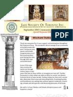 JSOT INC September 2010 Community Newsletter