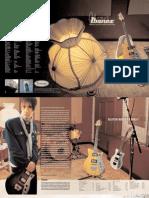Catalogo de Guitarra. Guitarras Ibanez