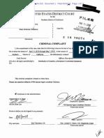 Gutierrez Villasenor aka JetSetLife Criminal Complaint