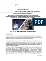 Silabo CT de Ley de SST- 23 Mayo de 2018