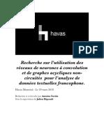 Recherche sur l'utilisation des réseaux de neurones à convolution et de graphes acycliques .pdf