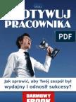 Zmotywuj pracownika - Anna Grabka