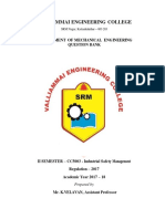 CC5003-Industrial Safety Management