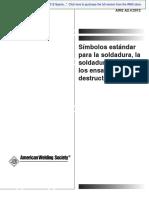 SIMBOLOGIA DE SOLDADURA EN ESPAÑOL AWS+A2.4-2012