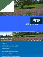CIN Presentation sap