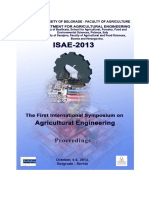 ISAE 2013 Proceedings