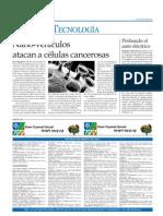 Nano Vehiculos Atacan Celulas Cancerosas Miercoles 15 Septiembre 2010