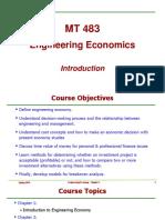 Chap1 Intro to Engineering Economics
