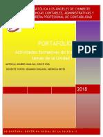 doctrina social II - portafolio de contabilidad III