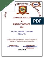 NGO HRM