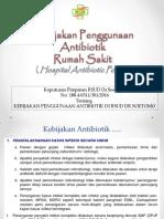 Kebijakan Antibiotik