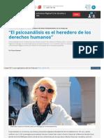 Www Pagina12 Com Ar 70045 El Psicoanalisis Es El Heredero De