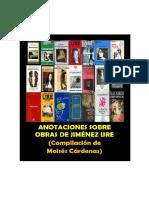 Escribieron Sobre Obras de j. Ure (Actualizado 2018)
