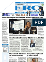 Baltimore AFRO-American Newspaper, September 25, 2010